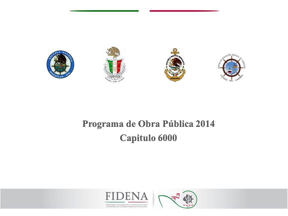 Programa de Obra Pública 2014