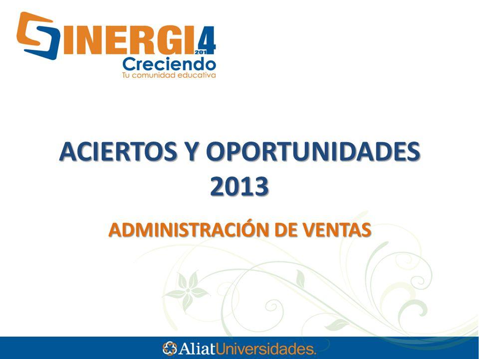 ACIERTOS Y OPORTUNIDADES 2013