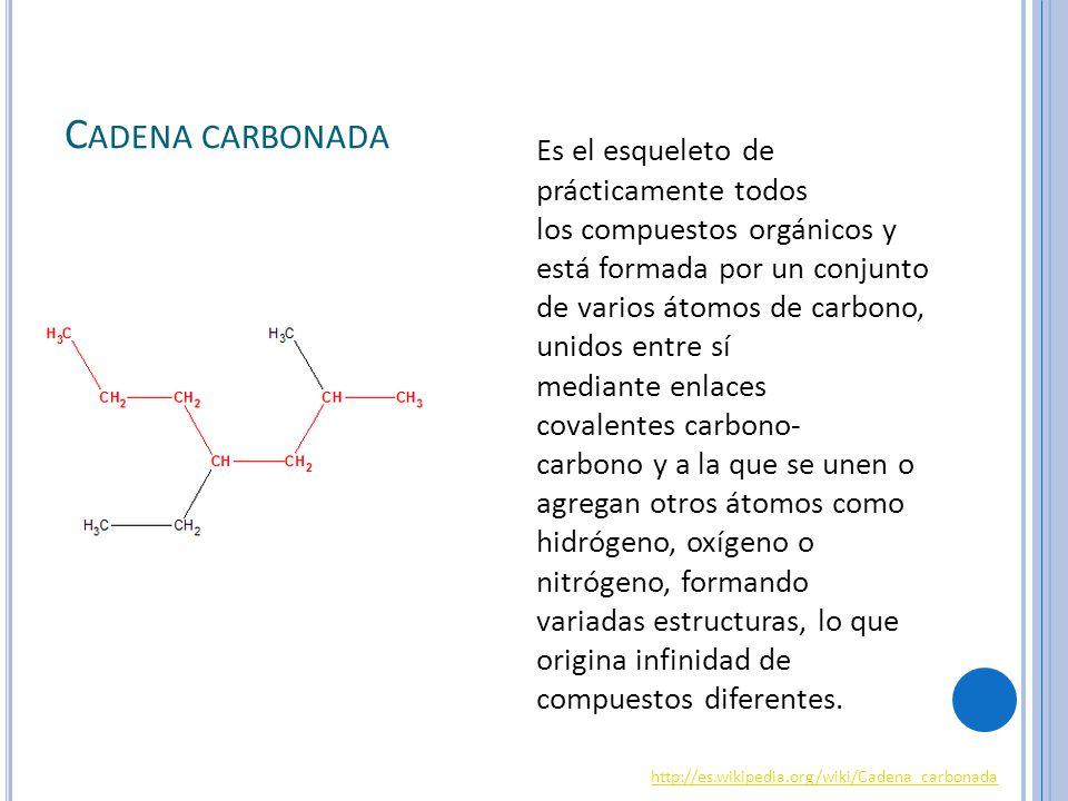 Cadena carbonada