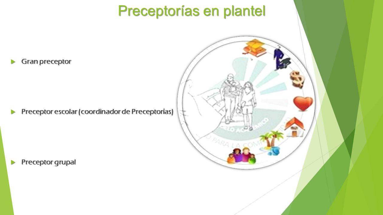 Preceptorías en plantel