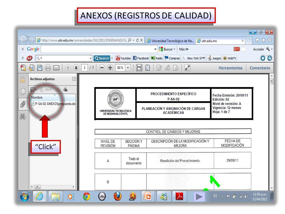 ANEXOS (REGISTROS DE CALIDAD)