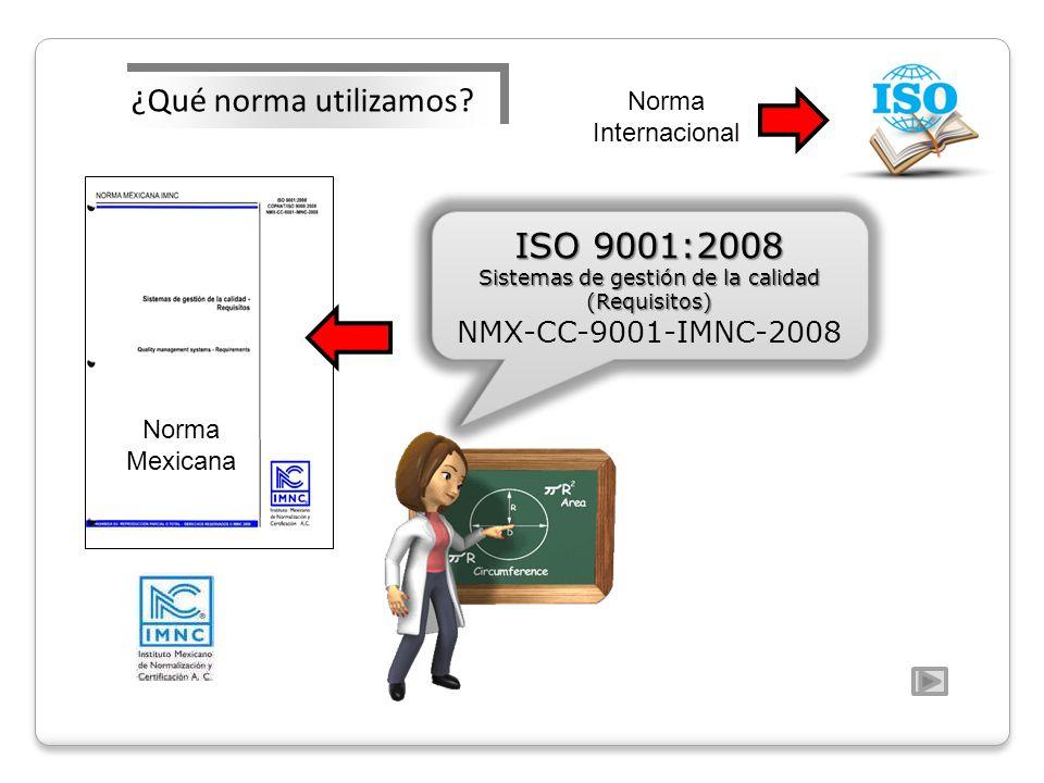 Sistemas de gestión de la calidad (Requisitos)