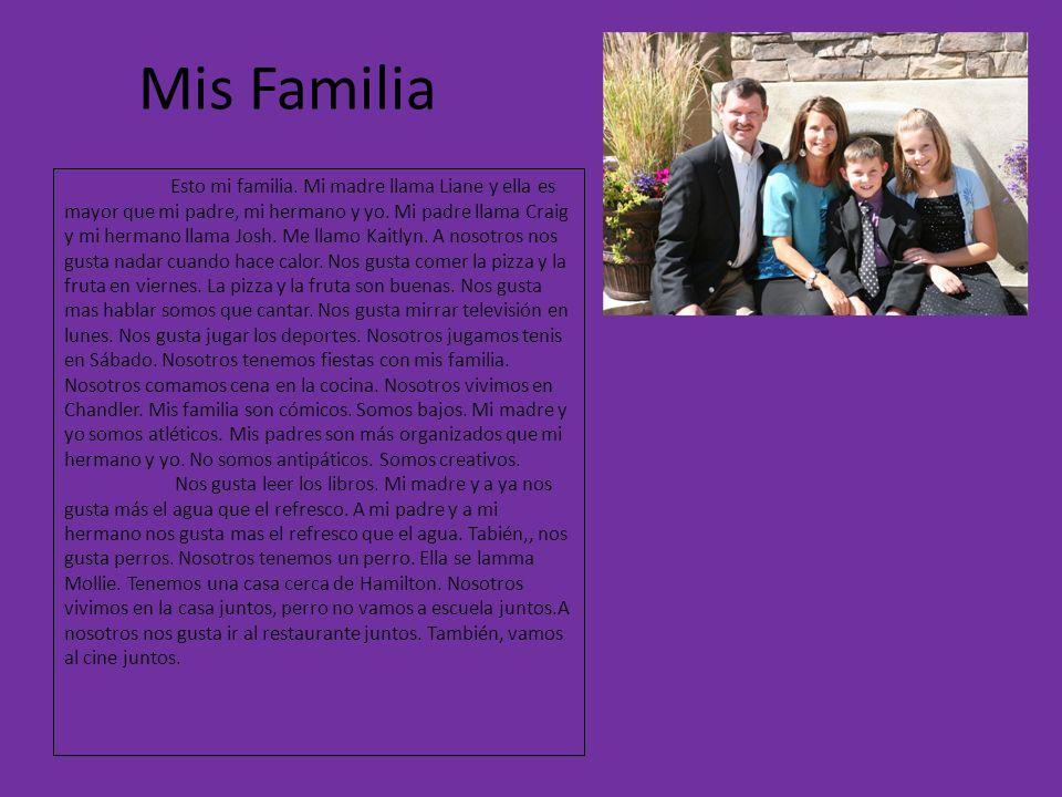 Mis Familia