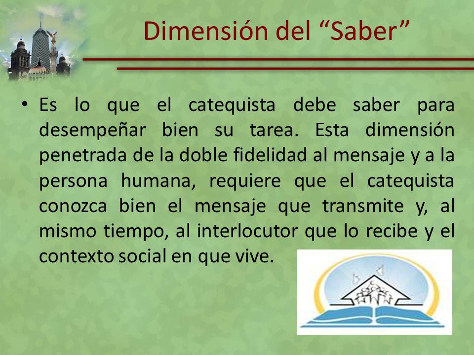 Dimensión del Saber