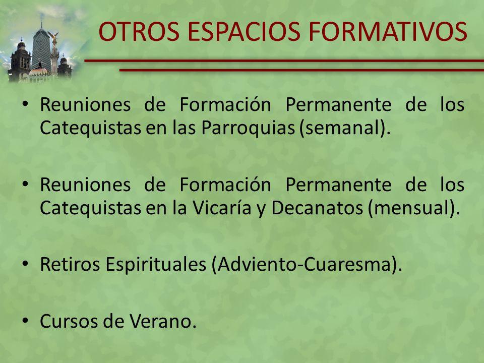 OTROS ESPACIOS FORMATIVOS