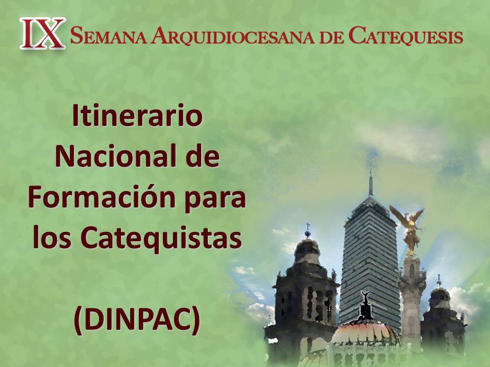 Itinerario Nacional de Formación para los Catequistas