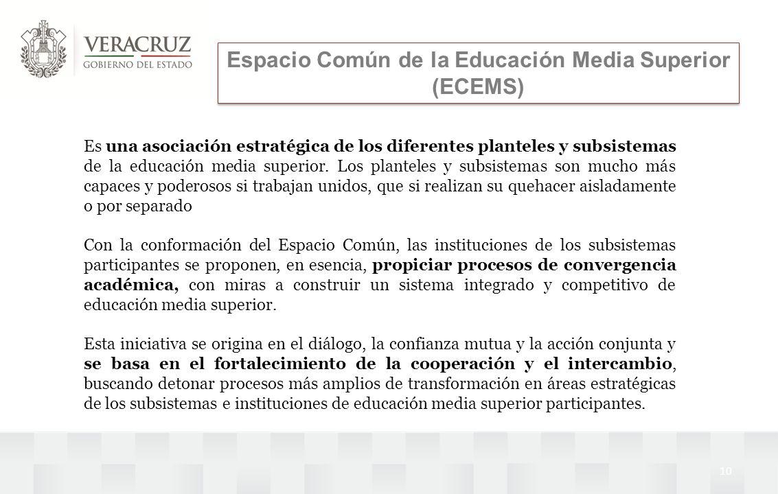 Espacio Común de la Educación Media Superior (ECEMS)