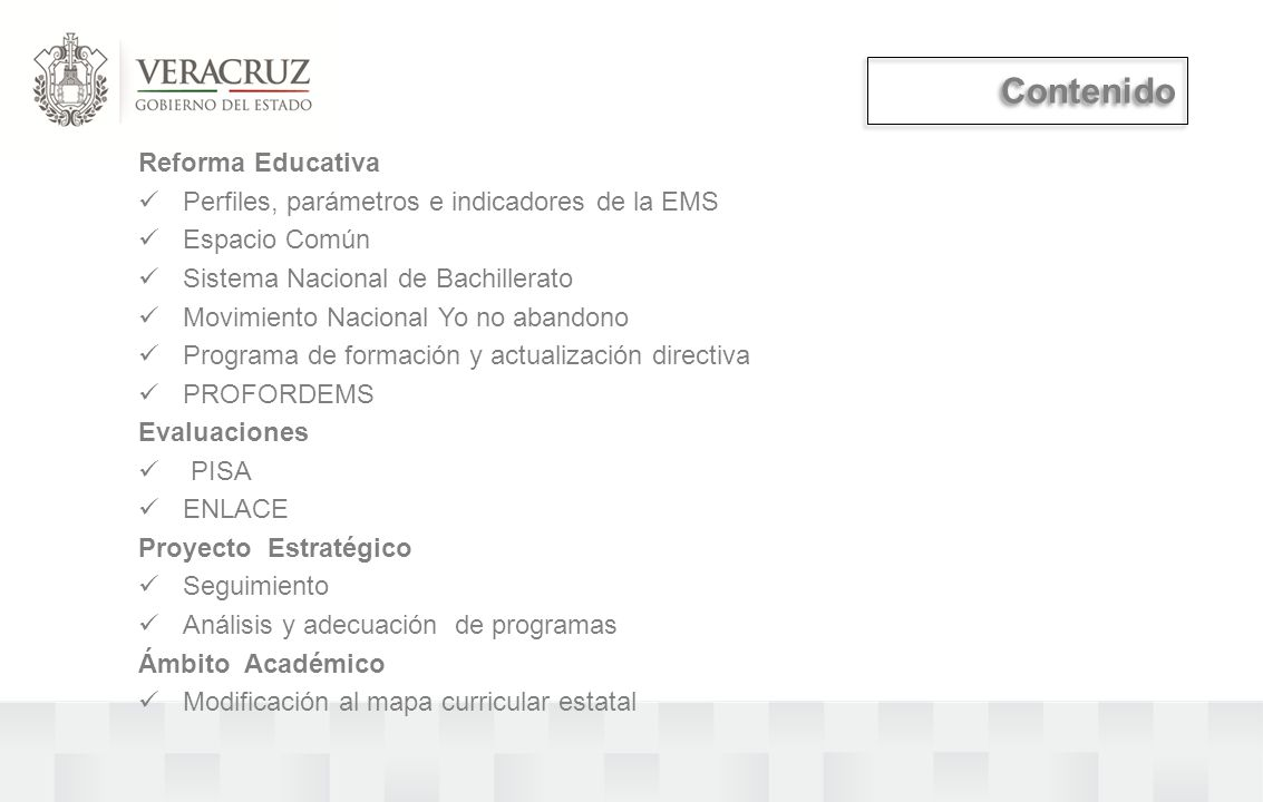Contenido Reforma Educativa