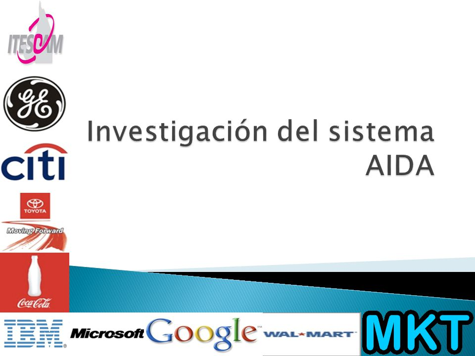 Investigación del sistema AIDA