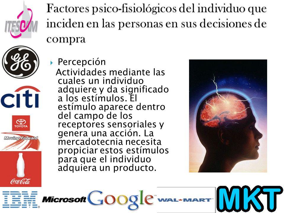 Factores psico-fisiológicos del individuo que inciden en las personas en sus decisiones de compra