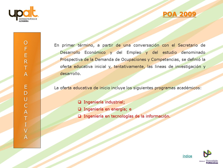 POA 2009 O. F. E. R. T. A. D. U. C. I. V.