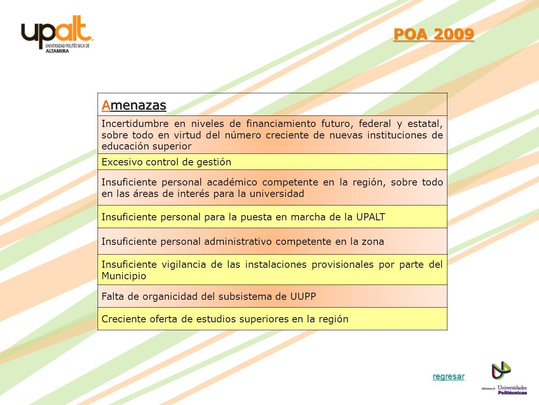 POA 2009 Amenazas.