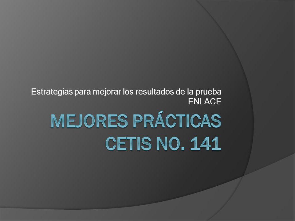 Mejores Prácticas CETis No. 141