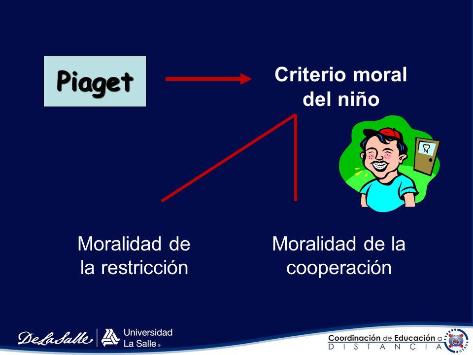 Criterio moral del niño