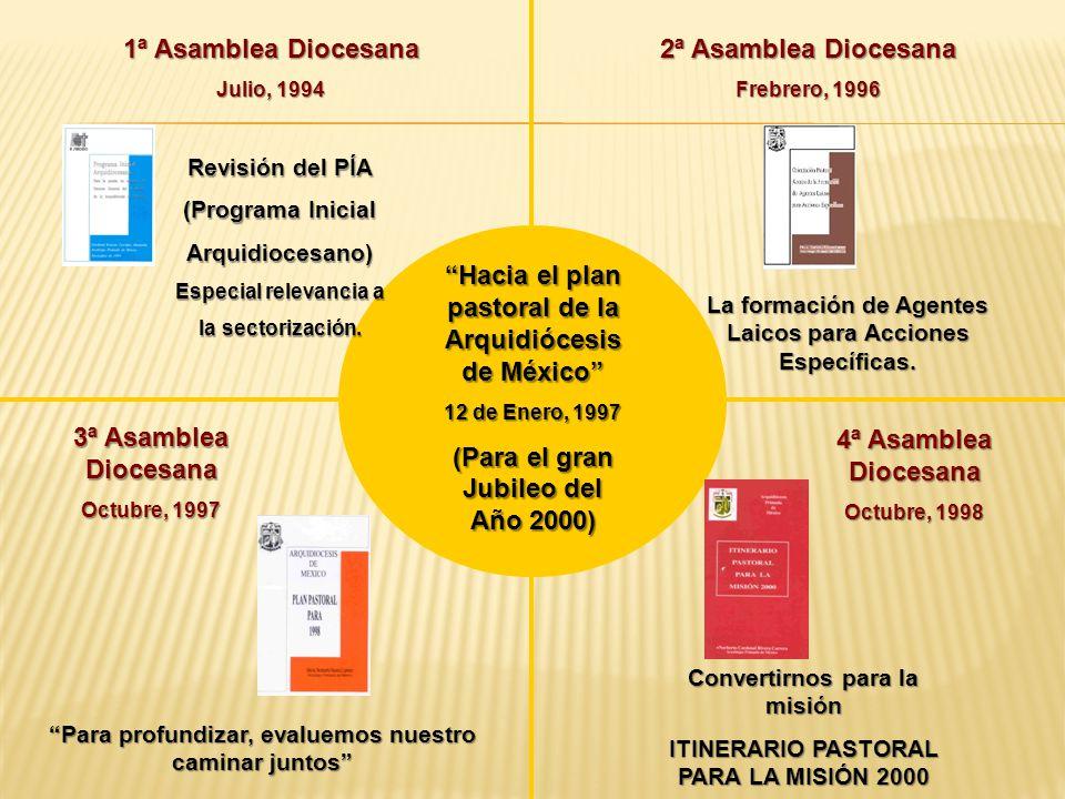 Hacia el plan pastoral de la Arquidiócesis de México