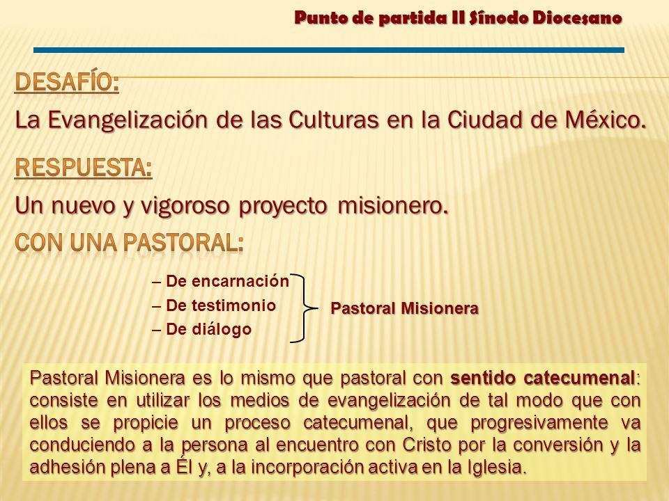La Evangelización de las Culturas en la Ciudad de México. Respuesta: