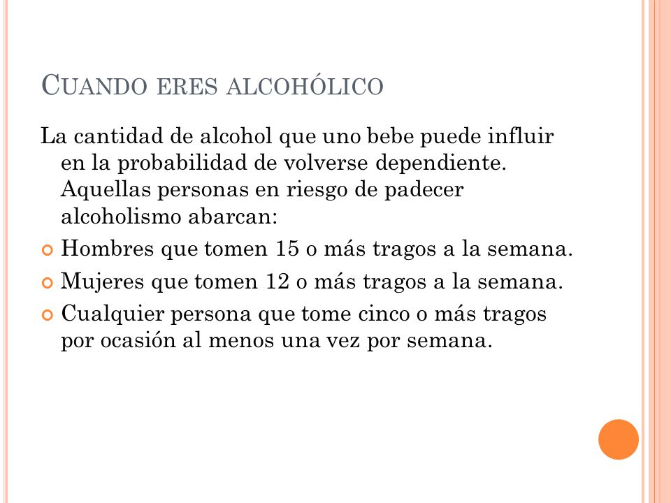 Cuando eres alcohólico