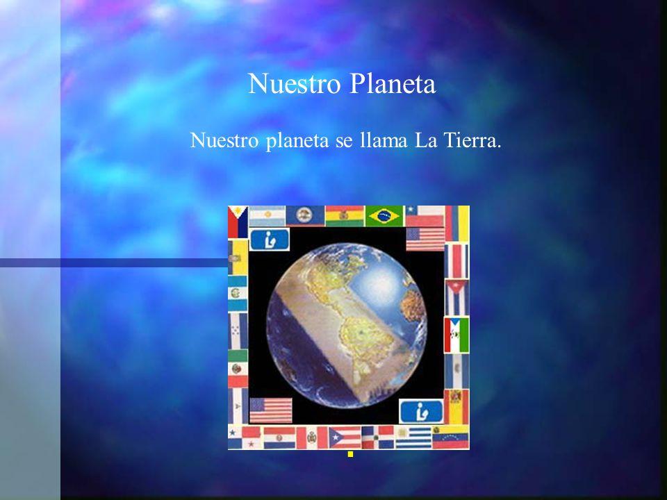 Nuestro Planeta Nuestro planeta se llama La Tierra. .