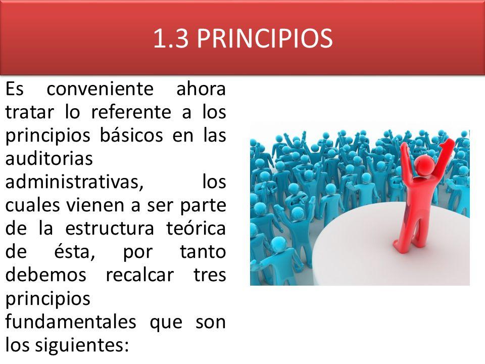 1.3 PRINCIPIOS