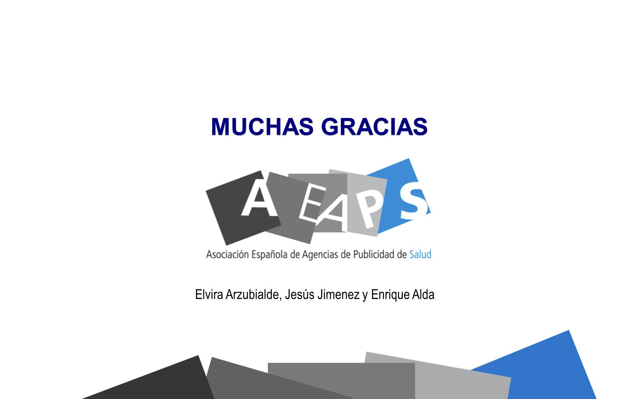 Elvira Arzubialde, Jesús Jimenez y Enrique Alda
