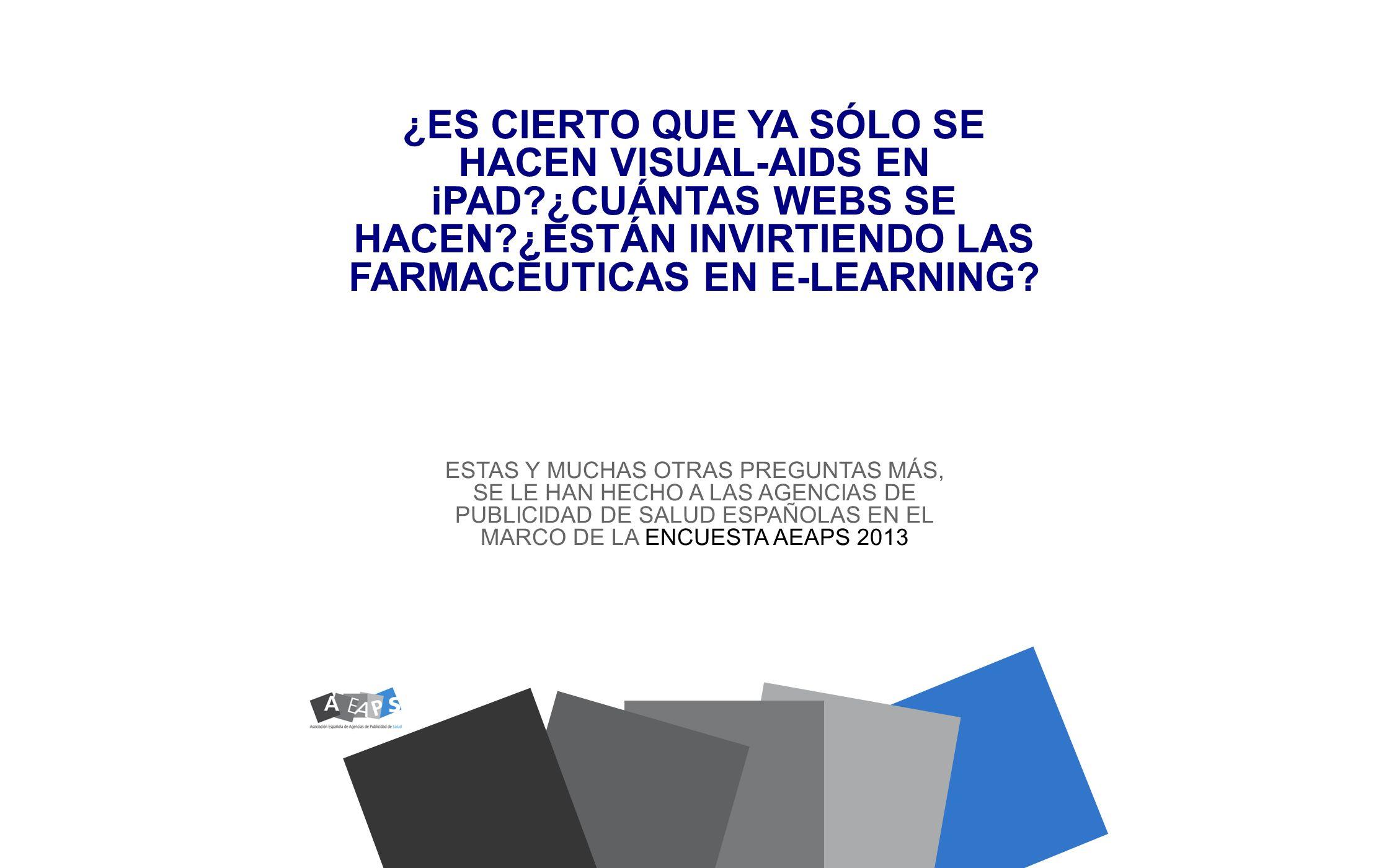 ¿ES CIERTO QUE YA SÓLO SE HACEN VISUAL-AIDS EN iPAD