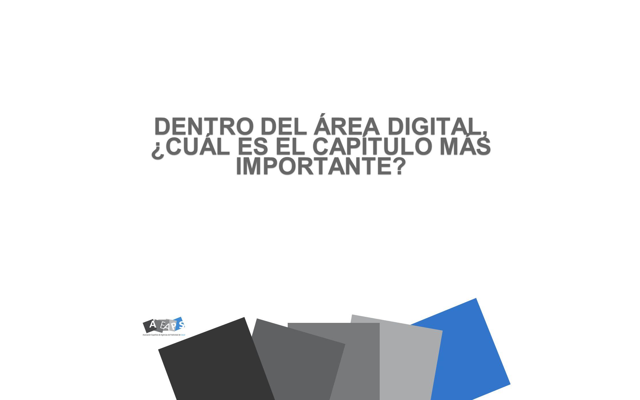 DENTRO DEL ÁREA DIGITAL, ¿CUÁL ES EL CAPÍTULO MÁS IMPORTANTE