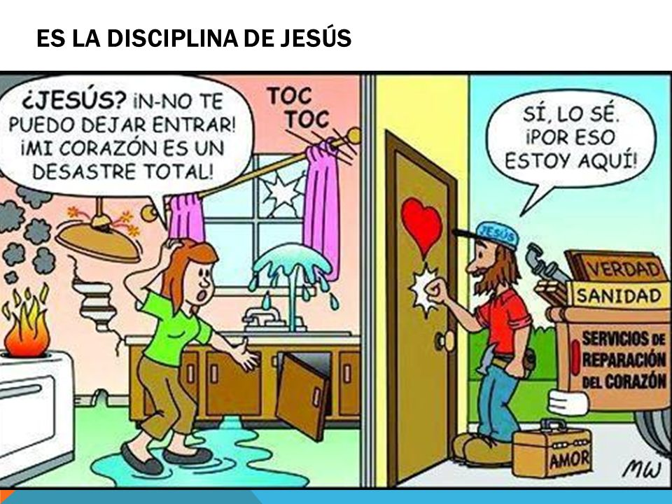 ES LA DISCIPLINA DE JESÚS