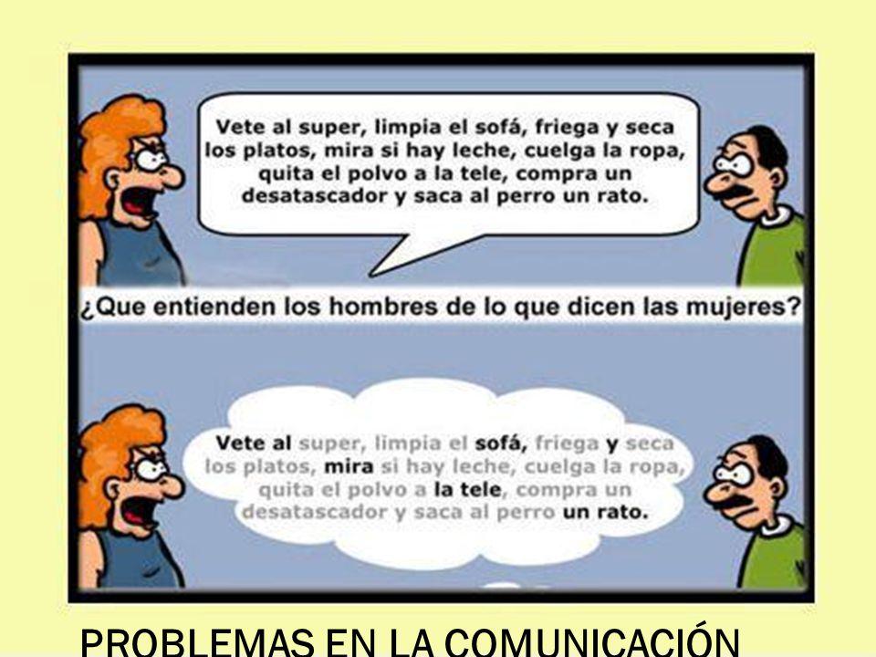 PROBLEMAS EN LA COMUNICACIÓN