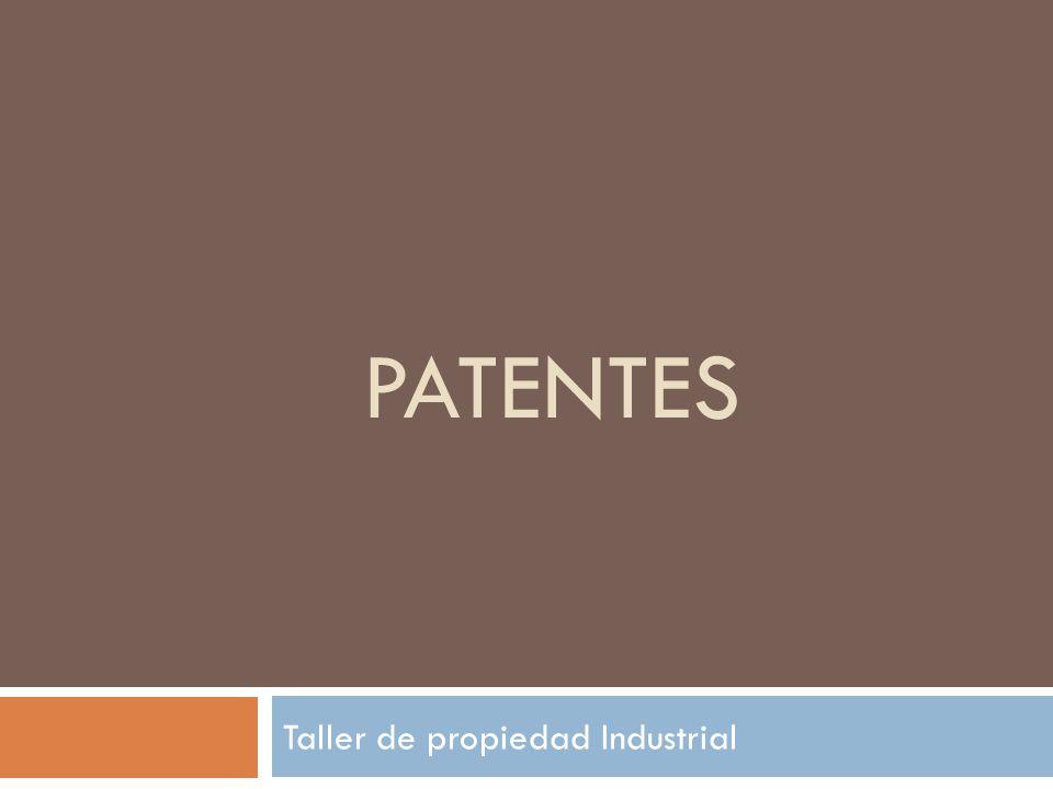 Taller de propiedad Industrial