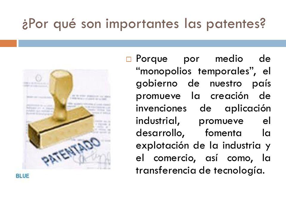 ¿Por qué son importantes las patentes