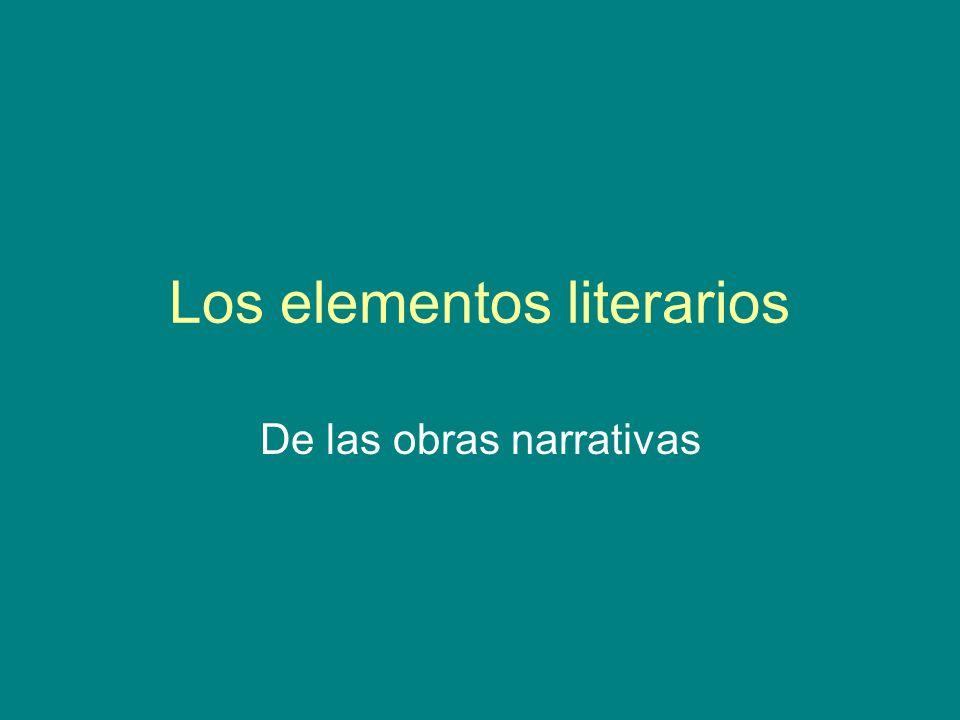 Los elementos literarios