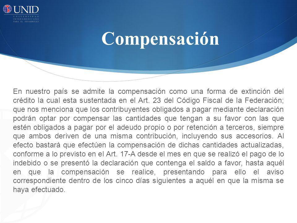 Compensación
