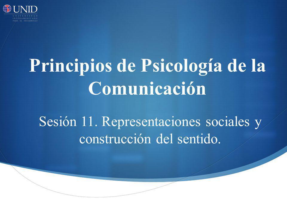 Principios de Psicología de la Comunicación