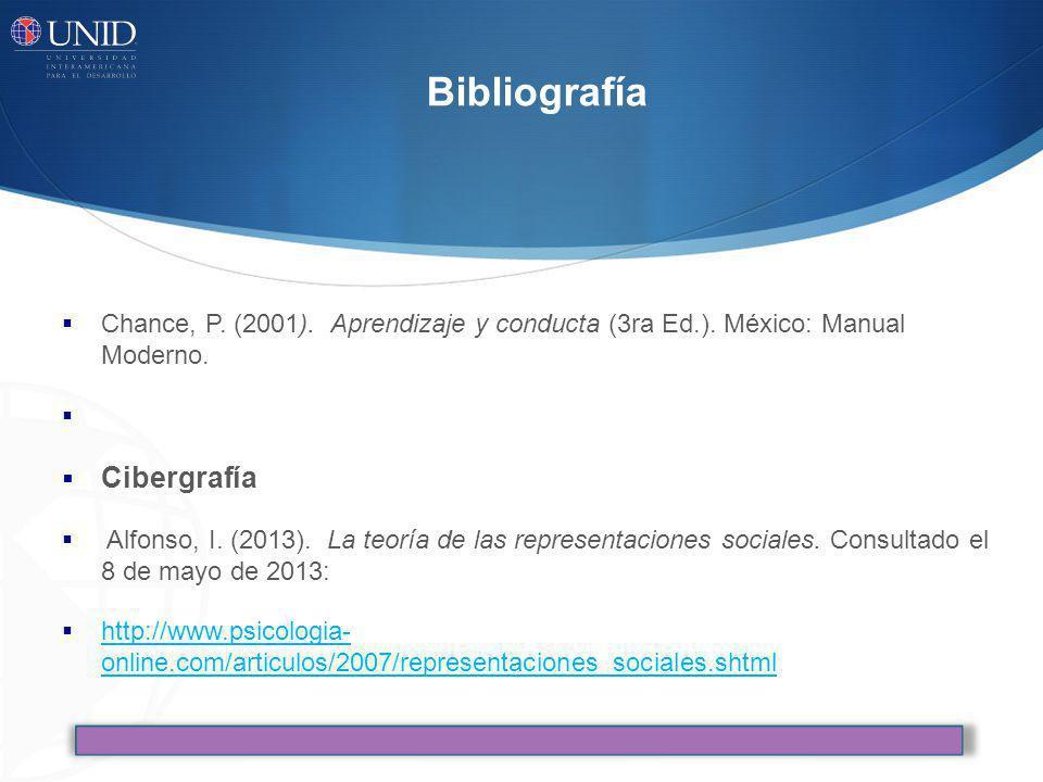 Bibliografía Cibergrafía