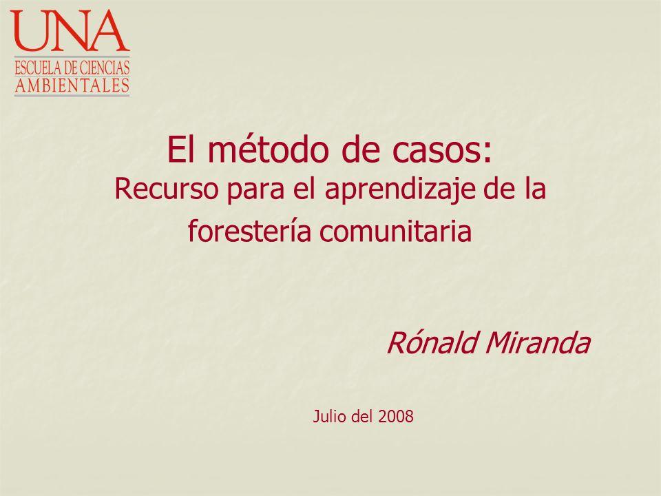 Rónald Miranda Julio del 2008