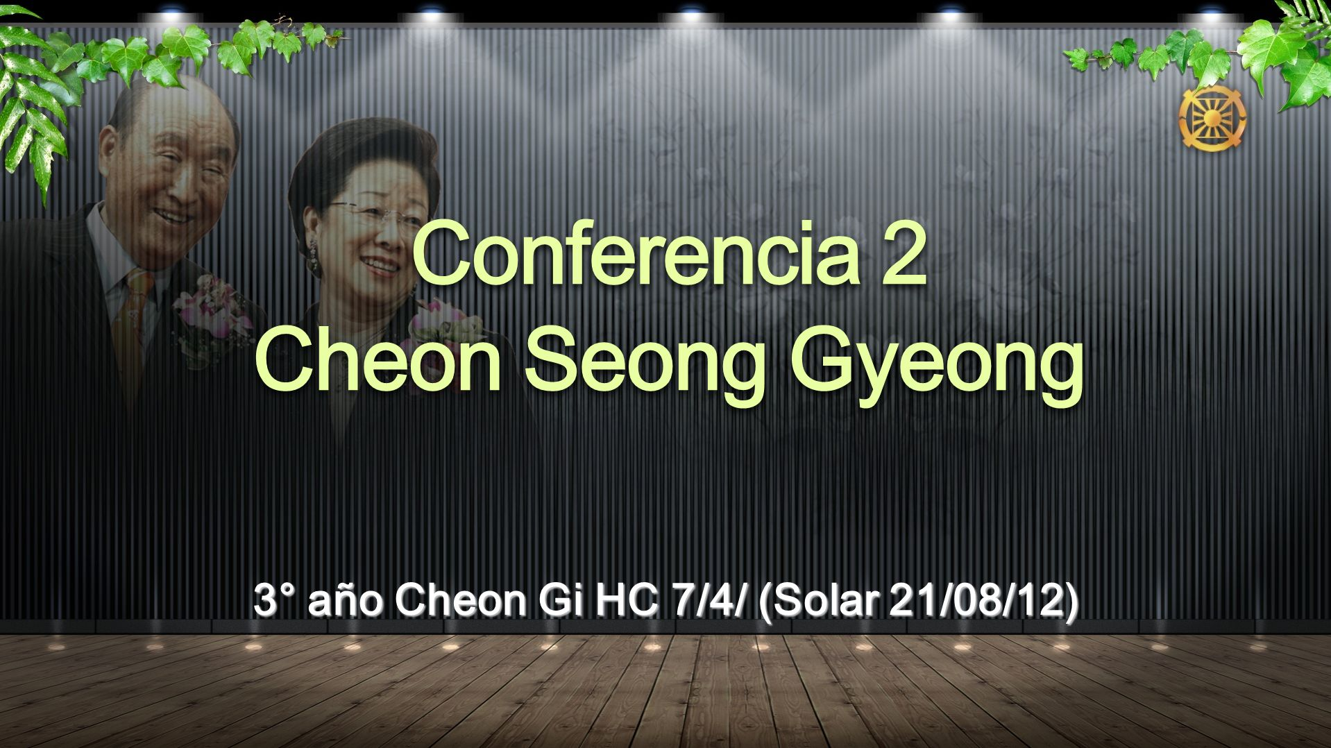 3° año Cheon Gi HC 7/4/ (Solar 21/08/12)