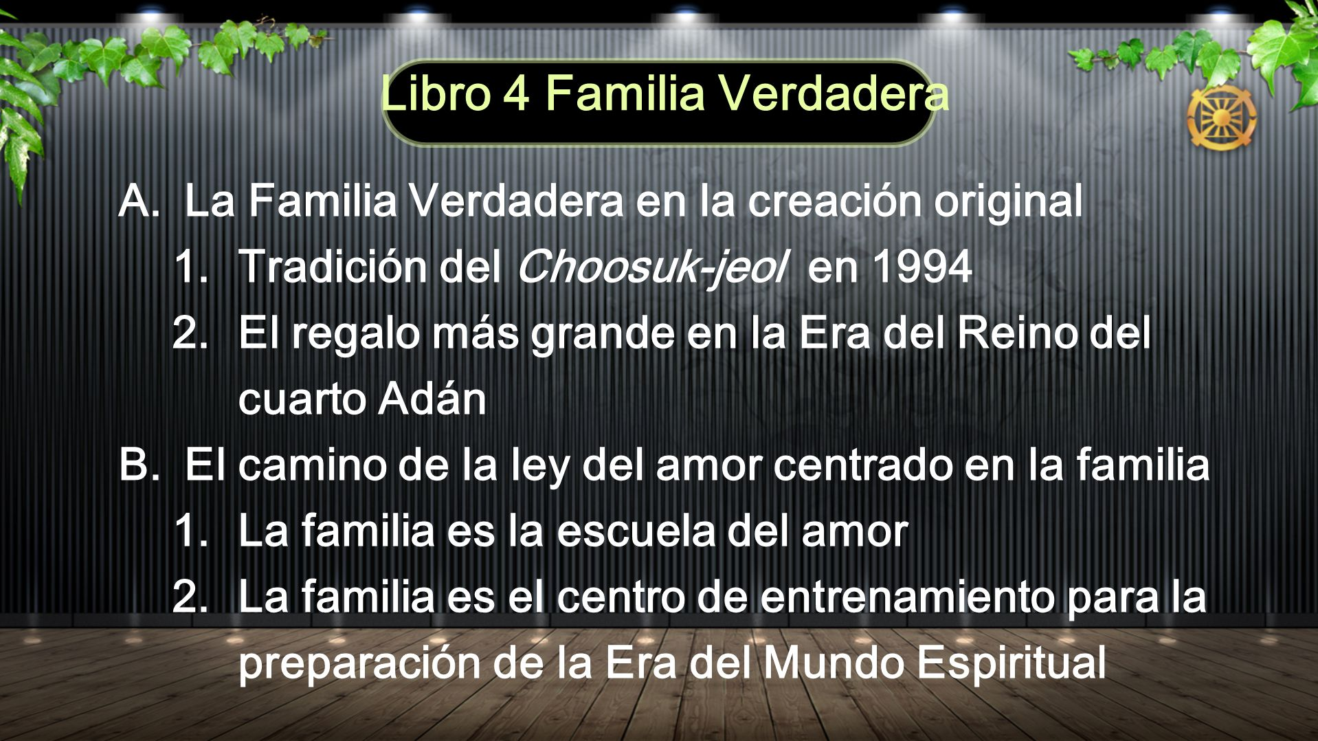 Libro 4 Familia Verdadera