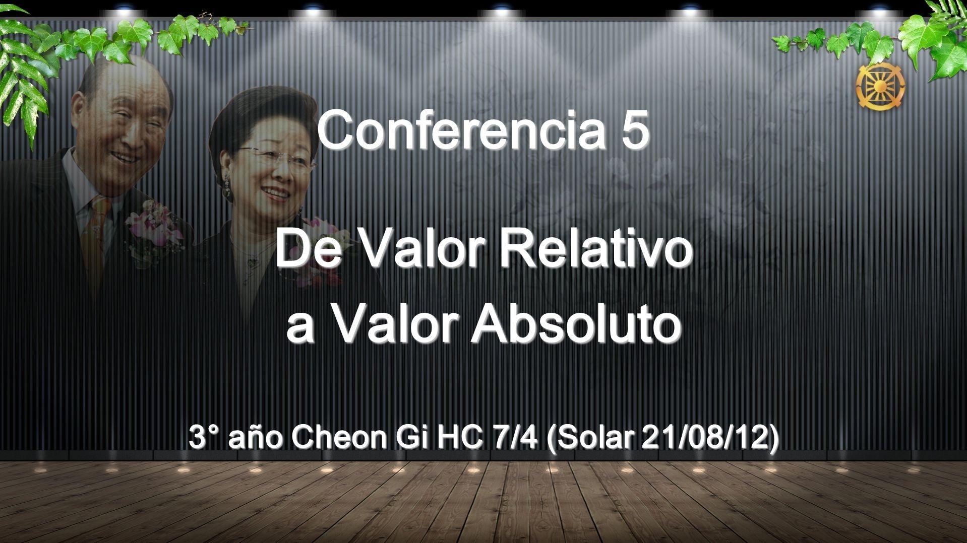 3° año Cheon Gi HC 7/4 (Solar 21/08/12)
