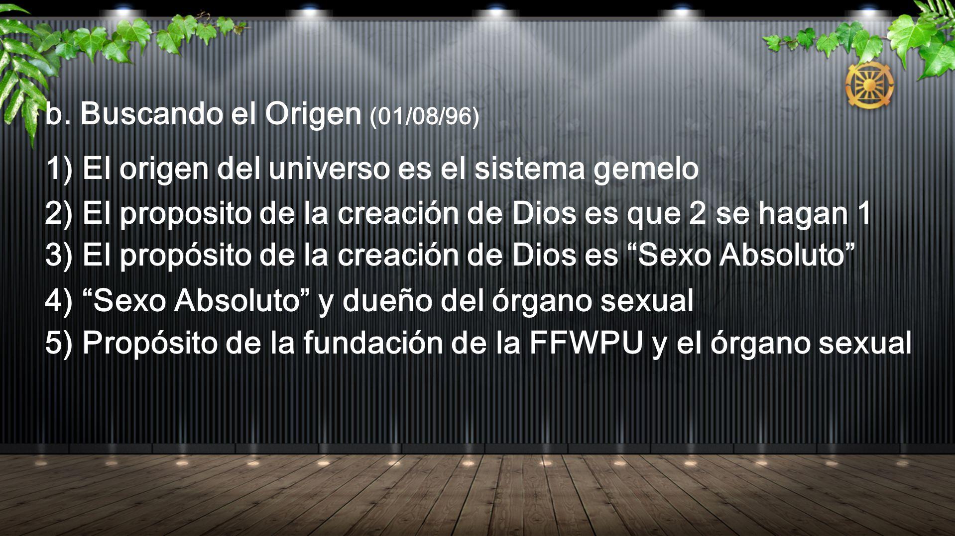 b. Buscando el Origen (01/08/96)