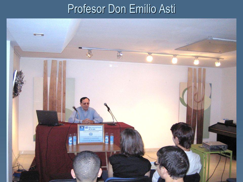 Profesor Don Emilio Asti