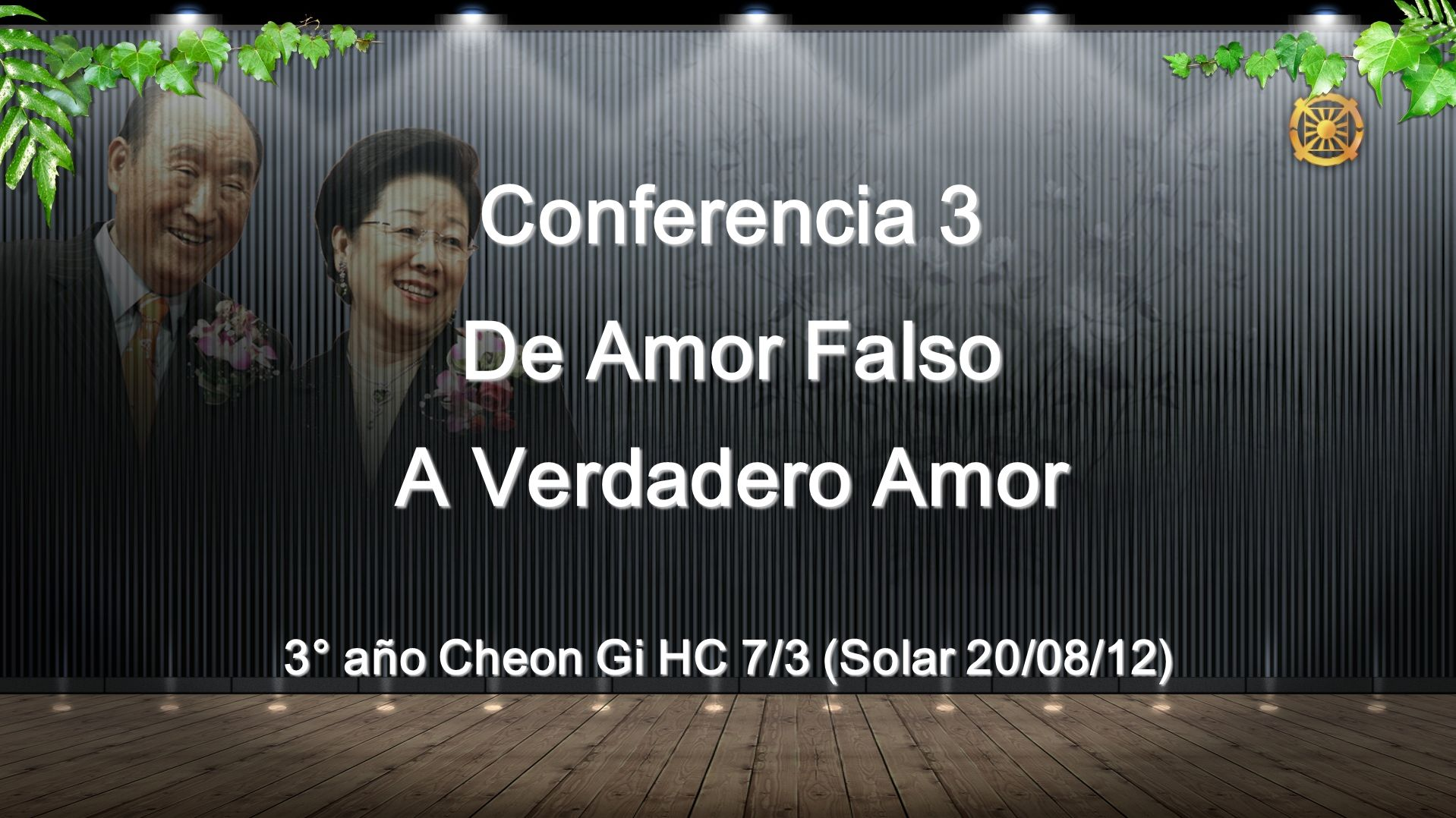 3° año Cheon Gi HC 7/3 (Solar 20/08/12)
