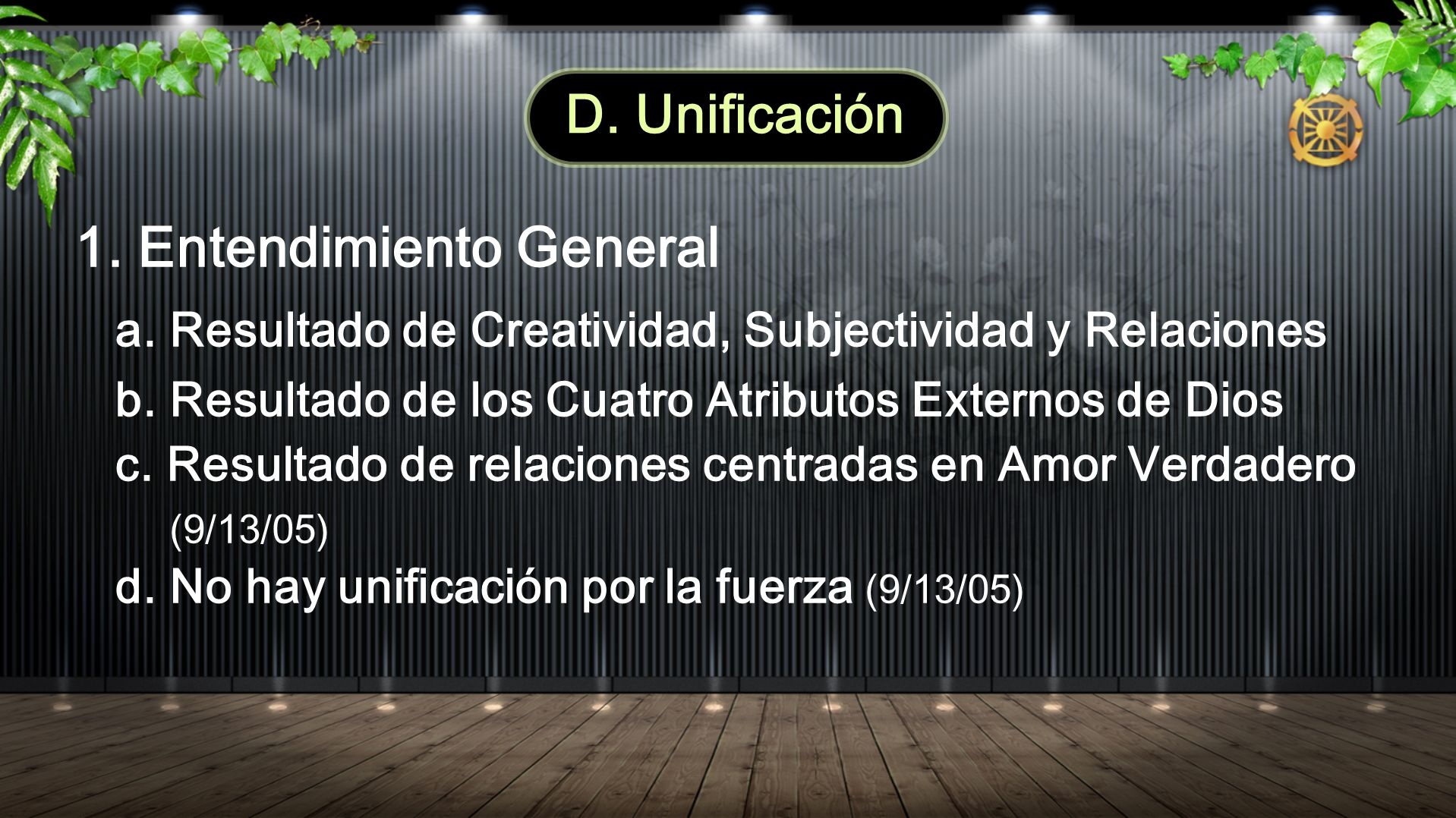 1. Entendimiento General