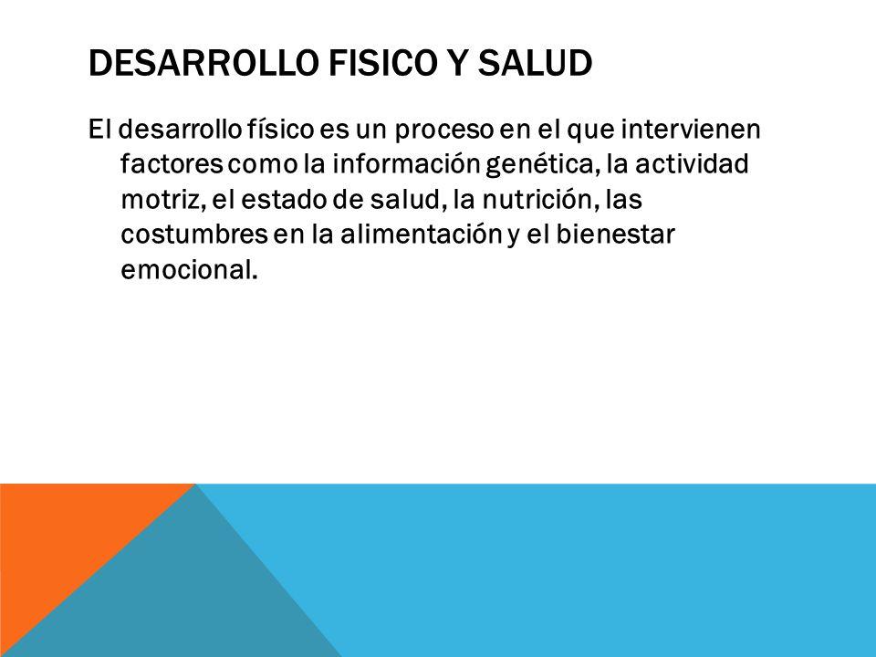 DESARROLLO FISICO Y SALUD