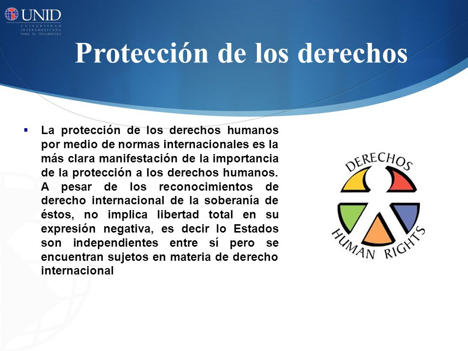 Protección de los derechos