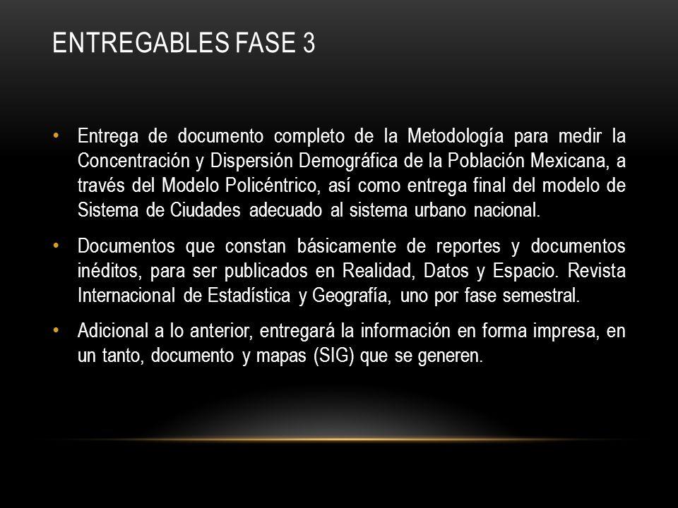 Entregables fase 3