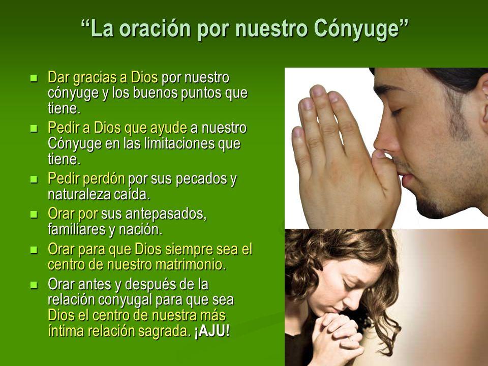 La oración por nuestro Cónyuge