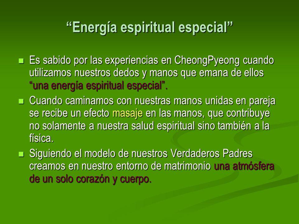 Energía espiritual especial
