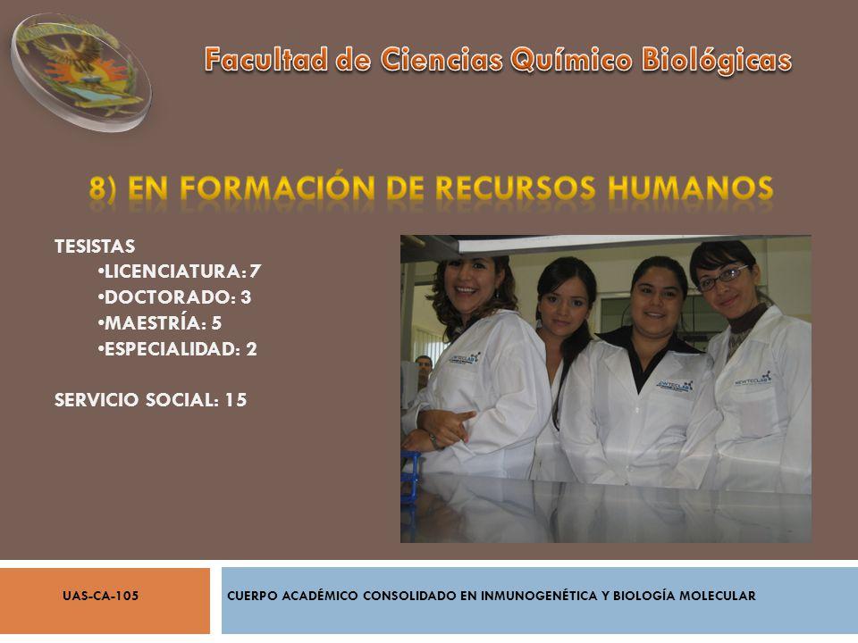 8) EN Formación de Recursos humanos