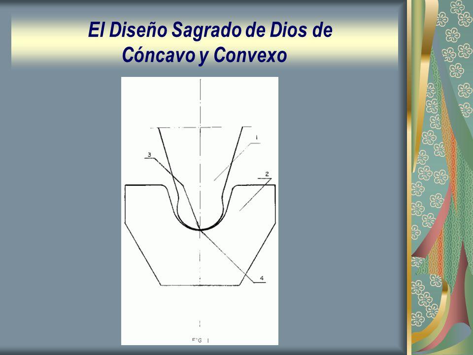 El Diseño Sagrado de Dios de Cóncavo y Convexo