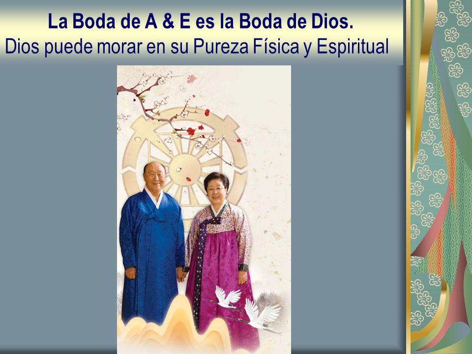 La Boda de A & E es la Boda de Dios